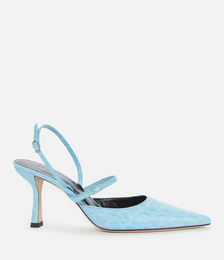 Tiffany Embossed Leather Court Shoes