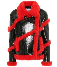 Melendy Faux Leather Jacket