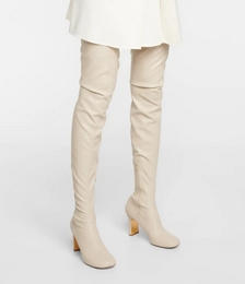 Ivy Faux Leather Over-the-knee Boots