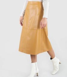 Monrow Vegan Leather Skirt