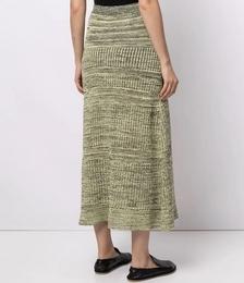 Mid-length Knitted Skirt