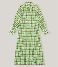 Responsible Seersucker Maxi Dress