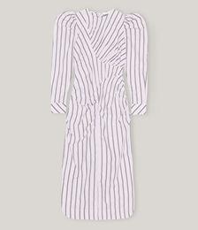 Organic Cotton Gathered Maxi Dress
