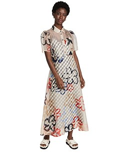 Dixie Collared Maxi Dress