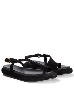 Lisbon Suede Sandals