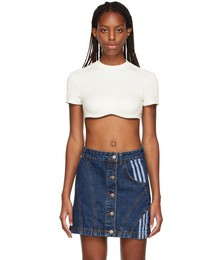 Off-White Sports Crop Top