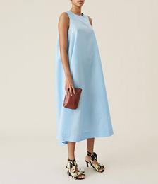 Crispy Tafetta Maxi Dress