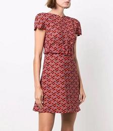 Greca Logo-print Mini Dress