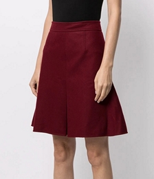 Pre-owned Box Pleat Skirt