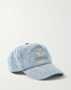Tyron Embroidered Cotton-twill Baseball Cap